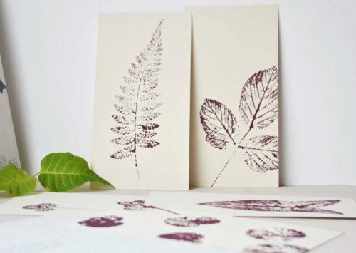 Planches botaniques imprimées à la main - illustrations originales série Hiver tome 1 • A collectionner saison après saison